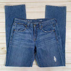 Vintage slim jeans distressed by J. Crew